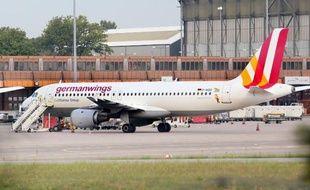 Un avion de la Germanwings, le 29 août 2014 à Berlin