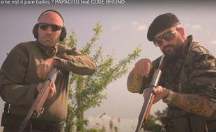 Capture d'écran extraite de la vidéo du YouTubeur Papacito contre lequel Jean-Luc Mélenchon souhaite déposer plainte.