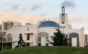 La mosquée de Créteil en 2008.