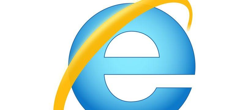 Logo du logiciel de Microsoft, Internet Explorer.