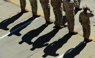 Armée américaine, illustration.