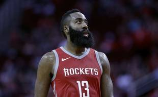 James Harden a inscrit 56 points lors du match Houston Rockets-Utah Jazz, le 5 novembre 2017.