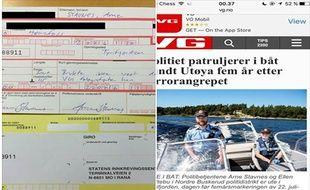 Arne Stavnes est un policier intègre. Au point de s'auto-administrer une amende de 53 euros.