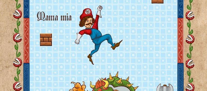 La réinterprétation de « Mario Bros » par Simon de Thuillières
