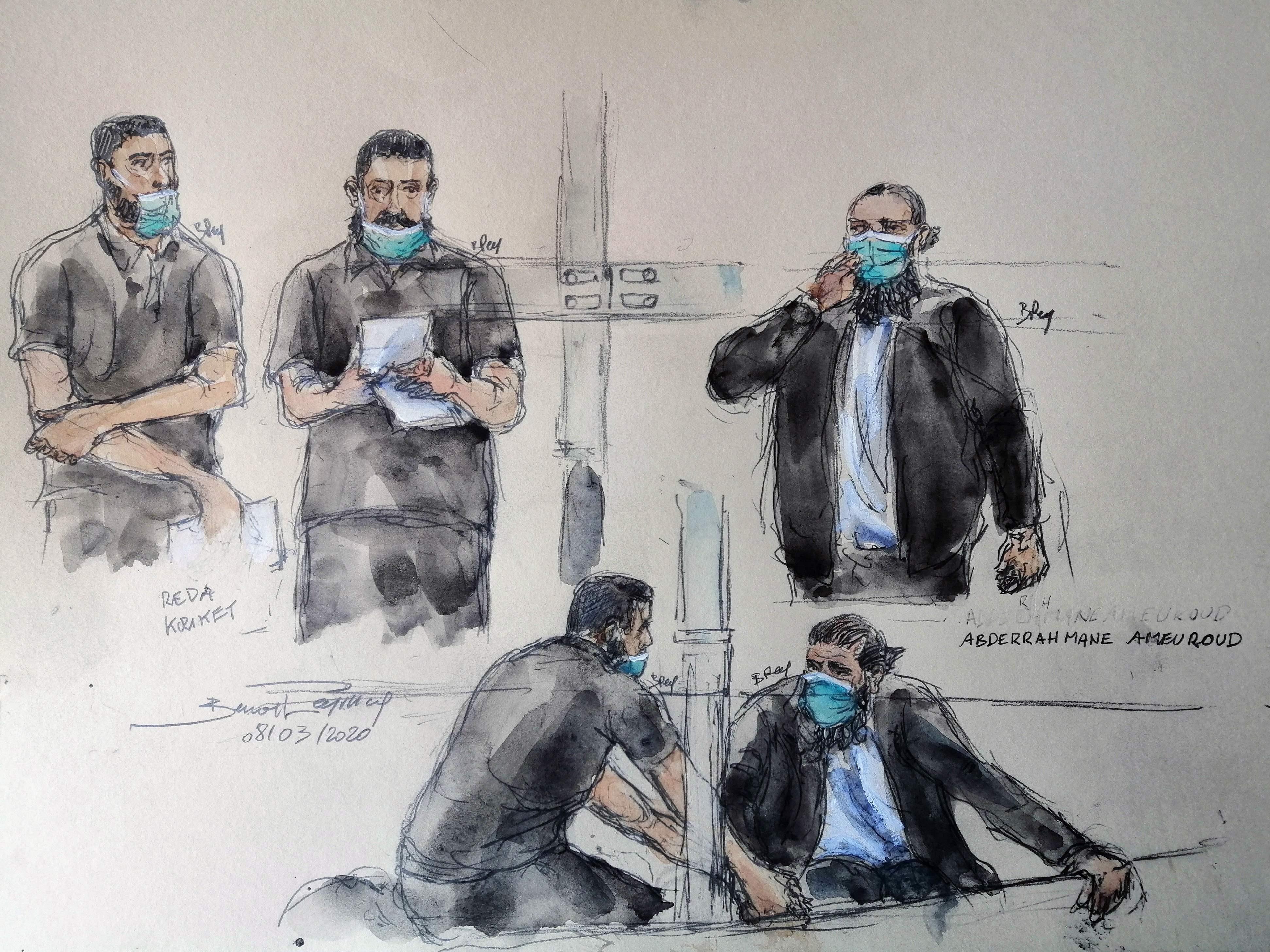 Le procès de Réda Kriket ainsi avec cinq suspect s'est tenu vendredi 9 avril 2021.