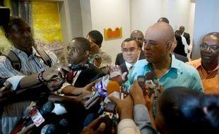 Le président haïtien Michel Martelly à Port-au-Prince, le 17 décembre 2014