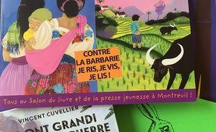 Salon du livre et de la presse jeunesse de Montreuil (illustration).