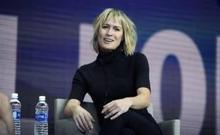 L'actrice Robin Wright au Synergy Global Forum à New York