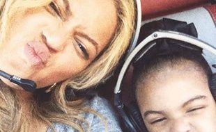 Beyoncé et Blue Ivy le 28 mai 2015