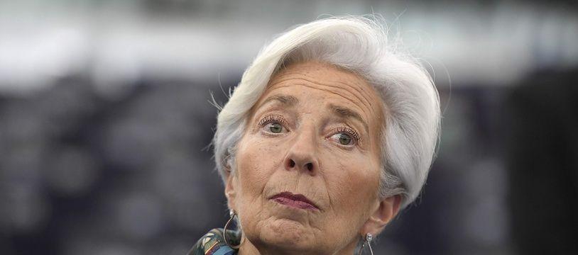 Christine Lagarde, présidente de la Banque centrale européenne, le 11 février 2020.