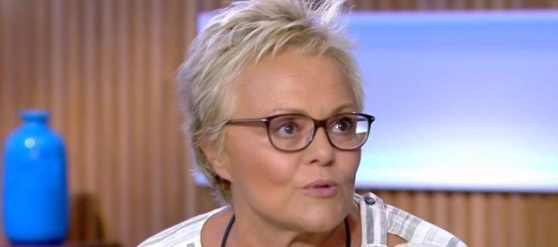 Muriel Robin dans «C à Vous», le 9 septembre 2019.