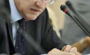 Le recteur, Gérald Chaix, hier.