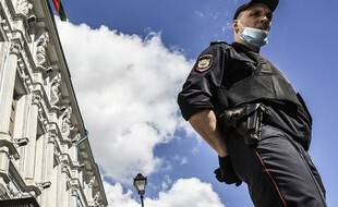 Un policier russe à Moscou (image d'illustration).