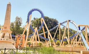 Une attraction du Parc Astérix (illustration)