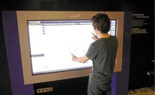 Les données ouvertes sont aussi consultables sur les écrans de la mairie de Montpellier.