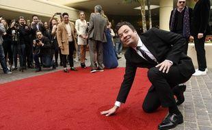Jimmy Fallon présente les 74e Golden Globes, le 8 janvier 2017.