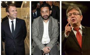 Vous ne le saviez peut-être pas, mais Emmanuel Macron, Cyril Hanouna et Jean-Luc Mélenchon s'envoient des SMS