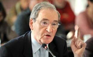 Gilbert Baumet le 31 mars 2009 à Pont-Saint-Esprit