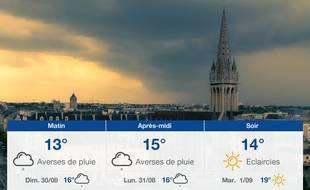Météo Caen: Prévisions du samedi 29 août 2020