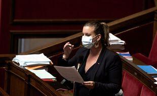 La députée LFI Mathilde Panot.