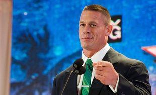 Le catcheur américain John Cena, en août 2013, à Beverly Hills.
