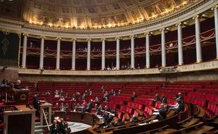 L'Assemblée nationale, le 13 avril 2015.