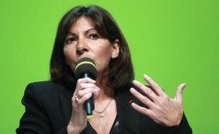 La maire de Paris, Anne Hidalgo, photographiée le 29 janvier 2015
