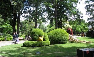 PHOTOS. Nantes: Le poussin est de retour au Jardin des plantes ...