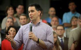 Le gouverneur du Wisconsin Scott Walker, le 12 juillet 2015.