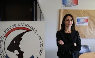 La cheffe du Sirasco, la commissaire Cécile Augereau