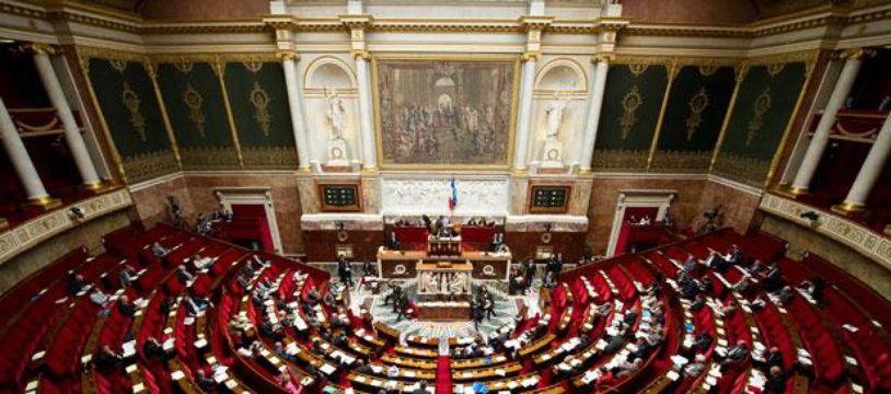Palais Bourbon, Assemblée nationale.