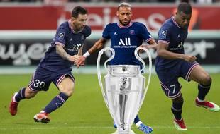 Messi, Neymar et Mbappé, pour amener le PSG à la victoire en Ligue des champions?