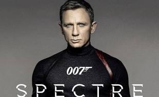 Daniel Craig sur une affiche promotionnelle de Spectre.