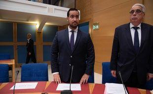 Alexandre Benalla devant la commission d'enquête du Sénat, le 19 septembre 2018
