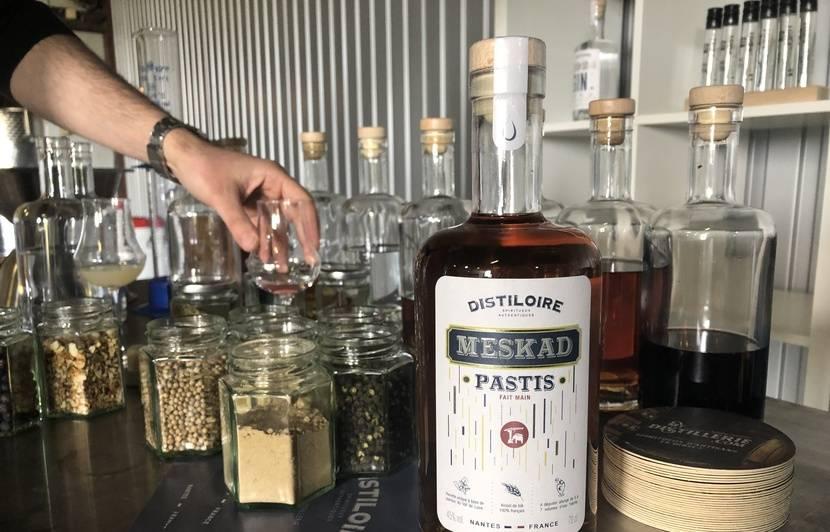 Nantes: Du pastis et du gin «faits maison» dans l'unique micro-distillerie de la région