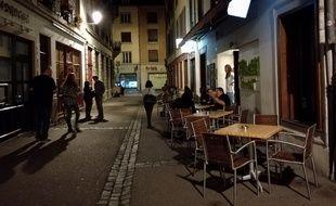 A Strasbourg, la nuit, des chuteurs tentent de garder les rues les plus calmes possible