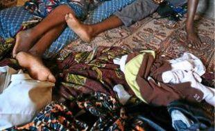Les migrants africains sont obligés de se cacher (ici, à Tripoli).