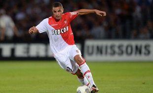 Le défenseur de Monaco Layvin Kurzawa lors du match contre Bordeaux le 10 août 2013.