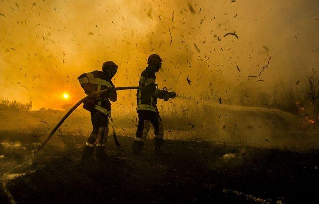 VIDEO. Marseille: Un incendie ravage trois hectares dans le parc national des calanques