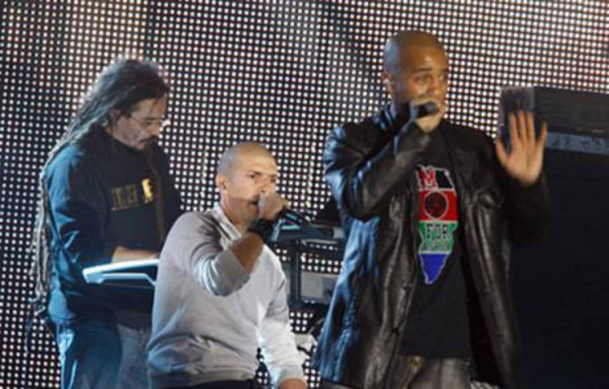 Le groupe de rap IAM aux Victoires de la Musique en mars 2008 – Sipa