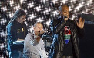 Le groupe de rap IAM aux Victoires de la Musique en mars 2008