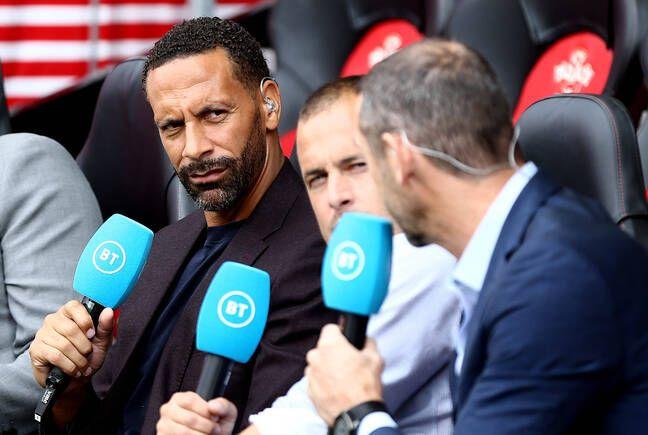 Rio Ferdinand livre son analyse à BR Sports aux côtés notamment de Michael Owen.