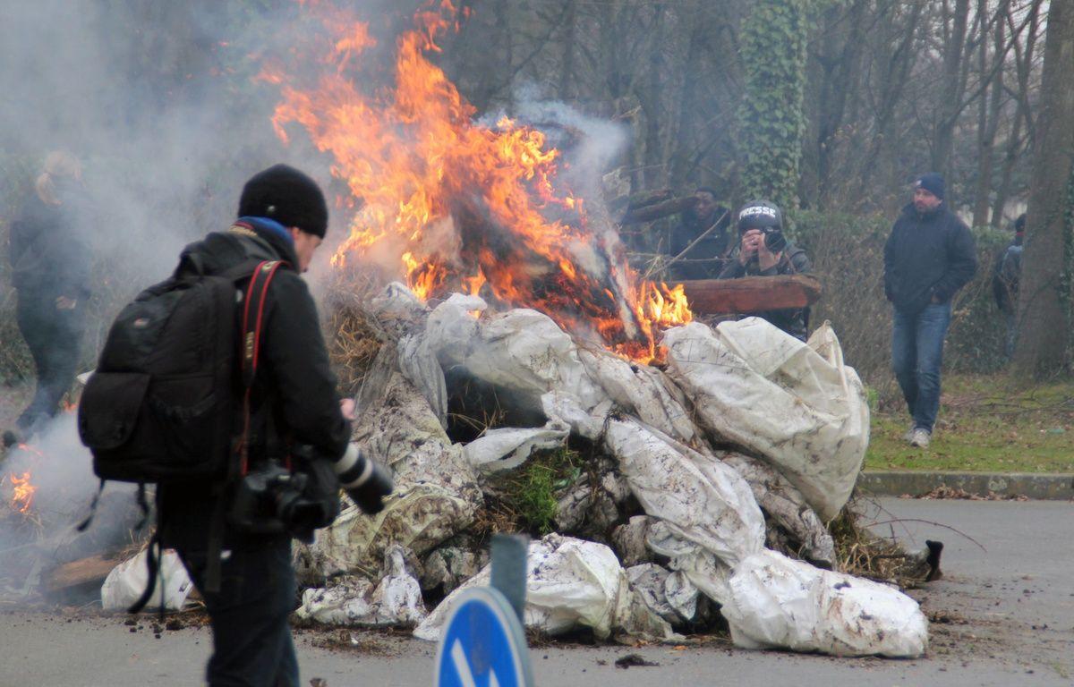 Manifestation des agriculteurs à Rennes, ici le 17 février 2016. – C. Allain / APEI / 20 Minutes