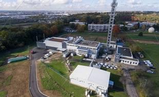 Le data center de TDF est situé au pied de sa grande antenne de télécommunications, à Bouliac près de Bordeaux.