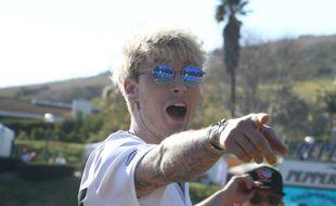 Le chanteur et acteur Machine Gun Kelly