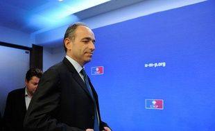 Jean-FrançoisCopé élu président de l'UMP, le 19 novembre 2012.