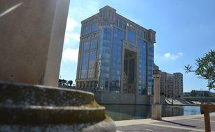 L'hôtel de région à Montpellier.