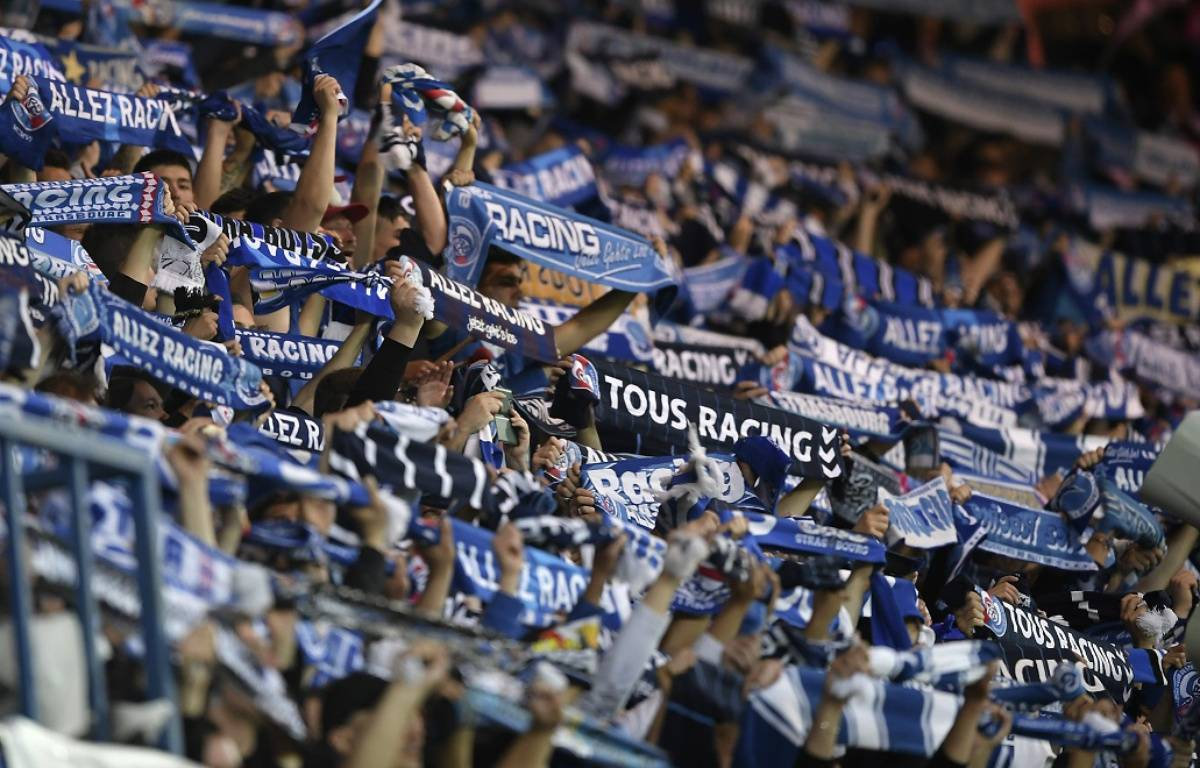 Racing Strasbourg Ligue 2 – PATRICK HERTZOG / AFP