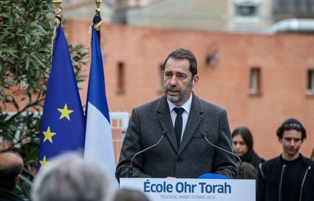 Toulouse: Pour Castaner, avec la hausse des actes antisémites, «un parfum des années 30 flotte dans l'air»