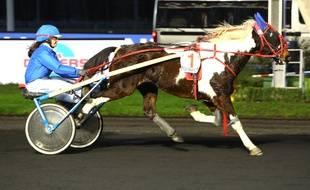 Lilas Viel, championne de France de trot à poney.